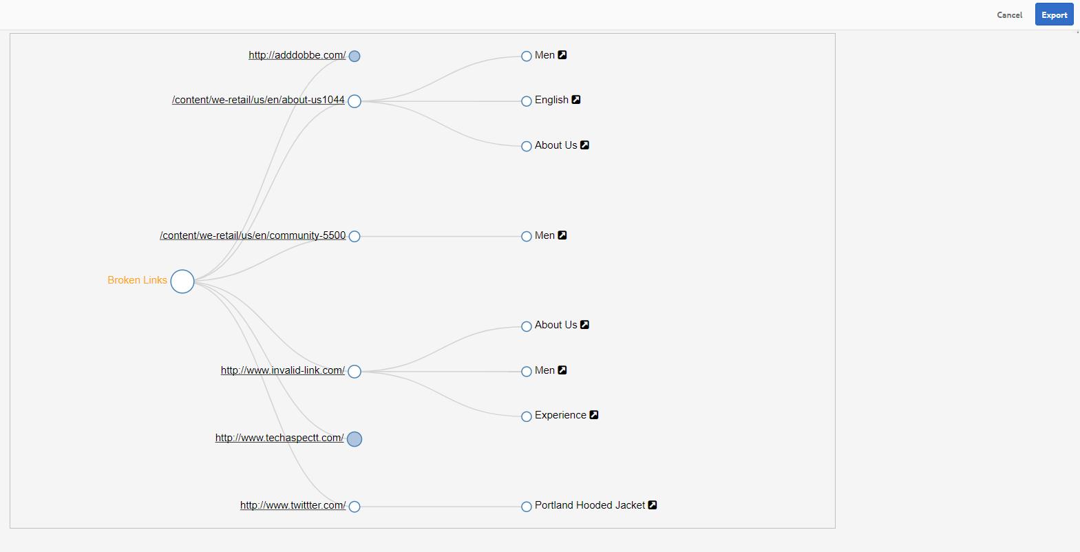 Identify and Fix Broken Links – AEM Link Checker